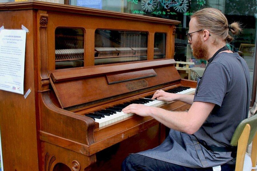 """Das Zwickauer """"Klavier für Jedermann"""" ist neu gestimmt"""