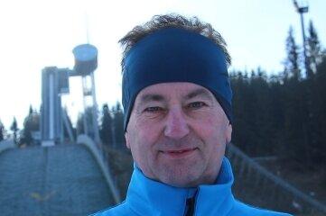 Der Klingenthaler Kampfrichter Michael Groß.