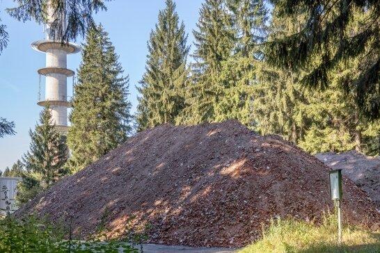 Lagert beim Fernsehturm stark schadstoffbelasteter Boden?
