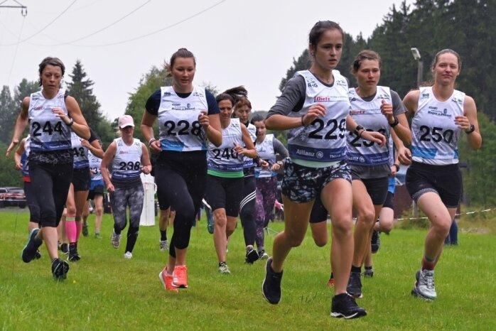 Klingenthaler Starterinnen dominieren Grünbacher Kirmeslauf