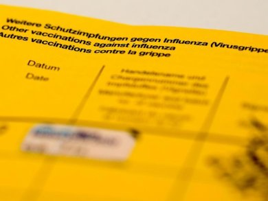 Ein Impfbuch.