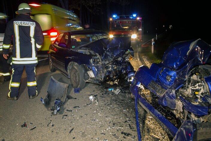 Zwei Verletzte bei Unfall zwischen Erlbach-Kirchberg und Ursprung