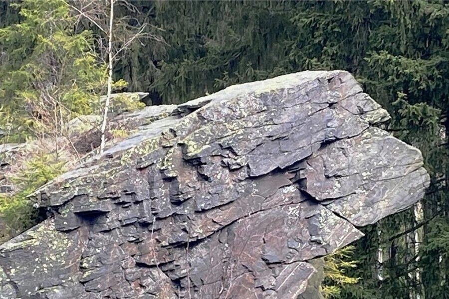 Der bekannteste Einzelfelsen am Wendelstein ist der sogenannte Löwenkopf.