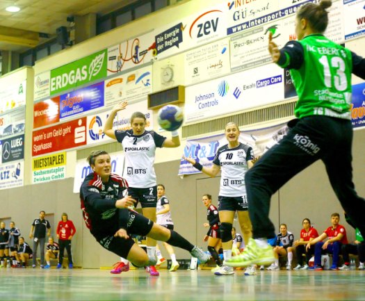 Die Handballerinnen des BSV Zwickau unterlagen am Samstag gegen die TG Nürtingen.