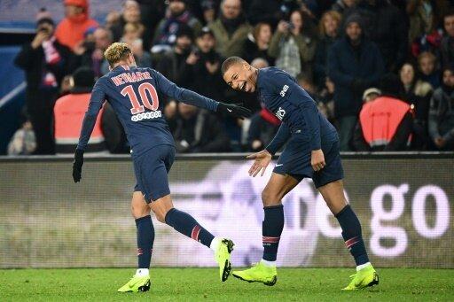 Torschützen zum 2:1-Sieg: Neymar (l.) und Mbappe (r.)