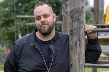 Michael Müller war 2008 als FSJler in die Kindertagesstätte Schatzkistl nach Elterlein gekommen. Heute ist er ihr Leiter.