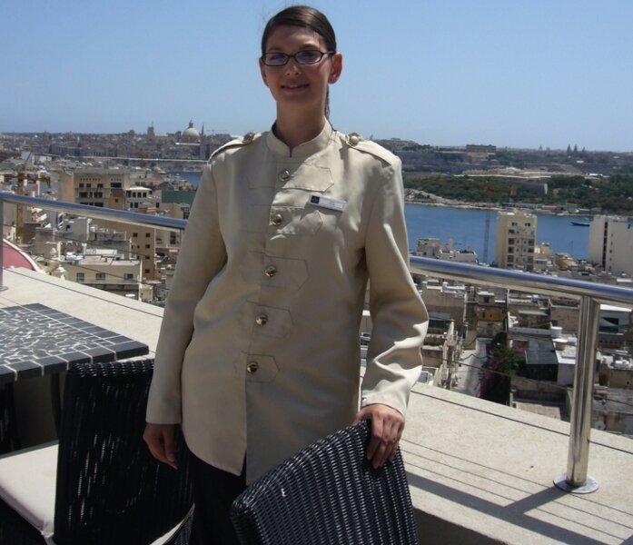 Die Plauenerin Tanja Blei arbeitet auf Malta.