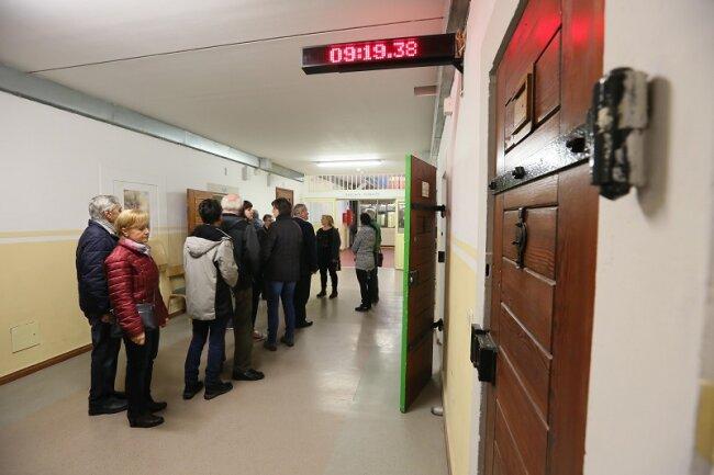 280 Menschen hatten sich zum Tag der offenen Tür im Zwickauer Gefängnis angemeldet.