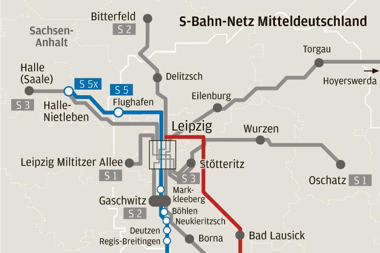 Neue S-Bahn lässt Chemnitz links liegen