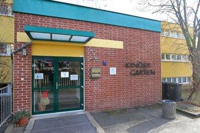 """Die Kindertagesstätte """"Kindernest"""" in Crimmitschau bleibt seit Dienstag geschlossen."""