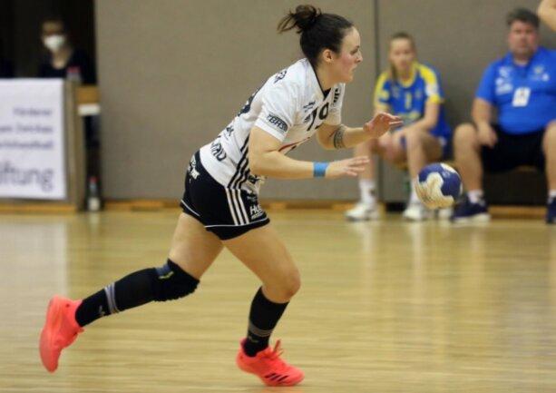 Lisa Felsberger will vor ihrer Handballpause den Aufstieg mit dem BSV Sachsen Zwickau schaffen.