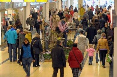 Einkaufen am Sonntag soll 2021 in Chemnitz nur an zwei Sonntagen im Advent möglich sein.