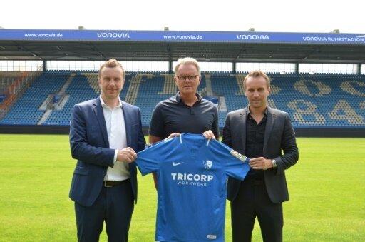 Der VfL Bochum stellt einen neuen Hauptsponsor vor