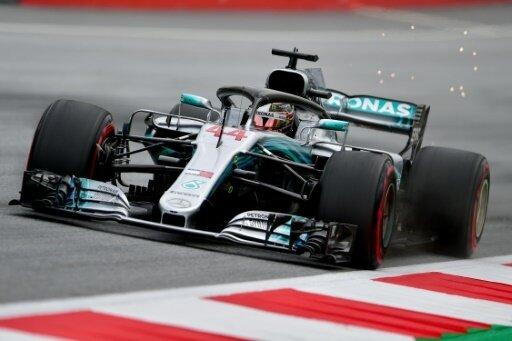 Hamilton fuhr am Freitag die Tagesbestzeit