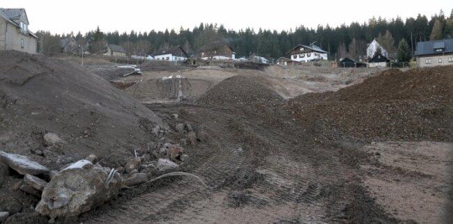 Auf der Fläche des alten Glaswerks soll eine Ferienhaus-Siedlung entstehen.