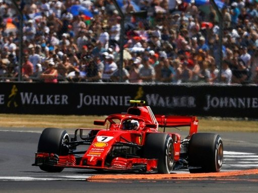 Räikkönen ist nach dem Start mit Hamitlon kollidiert