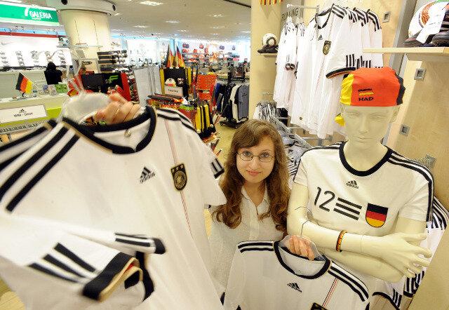 Deutsche WM-Trikots: Mehr Nachfrage als vor vier Jahren