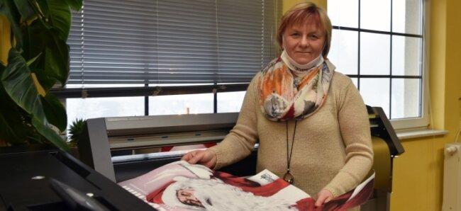 Claudia Stowasser engagiert sich für den Einzelhandel in der Stadt Oederan.