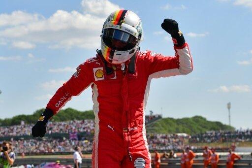Vettel war in England der Triumphator
