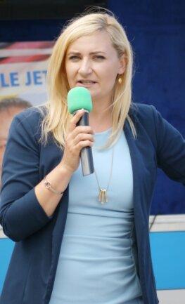 Carolin Bachmann kam als wissenschaftliche Mitarbeiterin für die AfD in die Politik. Die 32-Jährige lebt nach ihrer Rückkehr aus Frankfurt/Main in Mulda.
