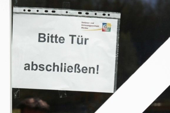 """Die schwer vom Coronavirus betroffene Pflegeeinrichtung """"Am Brühl"""" in Werdau hat zehn Todesfälle zu beklagen."""