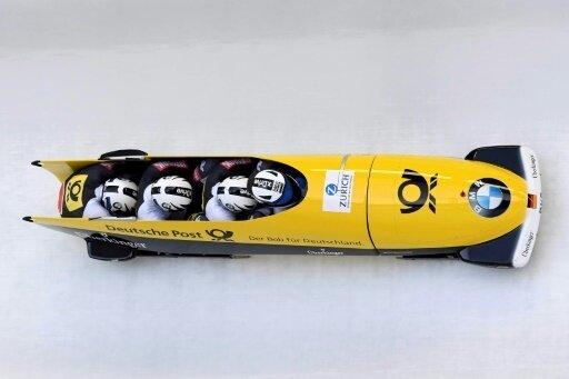 Johannes Lochner gewann den Gesamtweltcup im Vierer