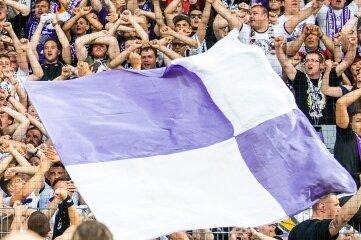 Der FC Erzgebirge Aue hofft, dass bald wieder Fans ins Stadion dürfen - wie hier vor Corona.