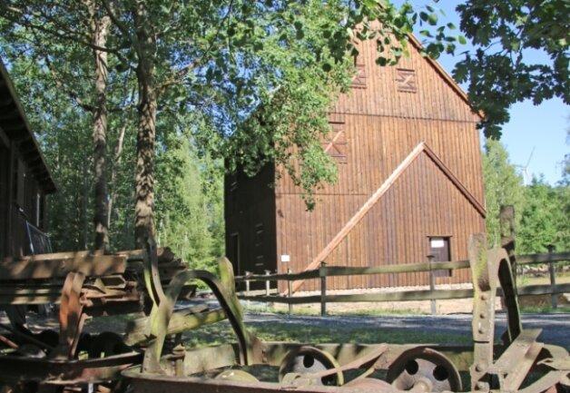 Das Schachthaus des VII. Lichtlochs des Rothschönberger Stollns in Halsbrücke steht ebenfalls Besuchern offen.