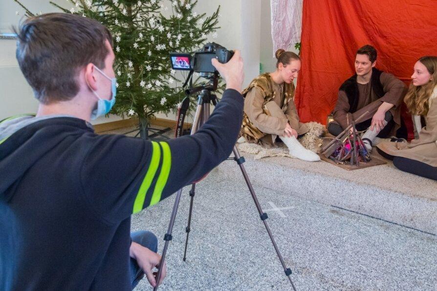 Krippenspiel kommt diesmal als Videoproduktion in die Kirche