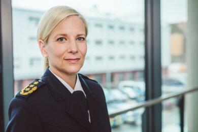 Sonja Penzel ist bisher die Chefin der Chemnitzer Polizeidirektion.