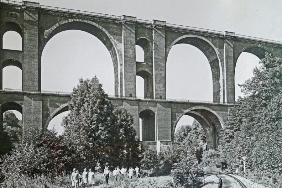 Fotorätsel 1315: Wie hoch ist die Elstertalbrücke?