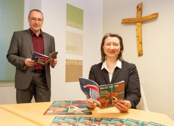 """Unter dem Motto """"Wach mit mir"""" haben Marcus Hoffmann und Ulrike Weyer Broschüren und eine Internetseite erstellt."""