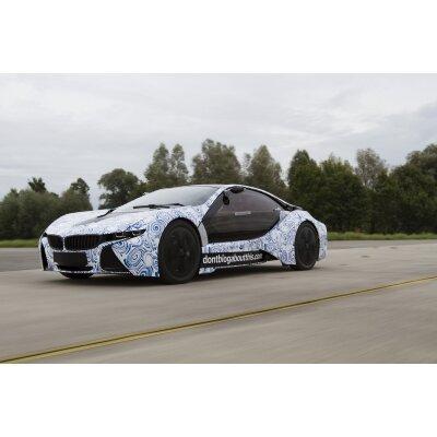 BMW hat am Freitag den Startschuss für die Produktion seines ActiveE gegeben. Im Bild: Die Konzeptstudie Vision EfficientDynamics.