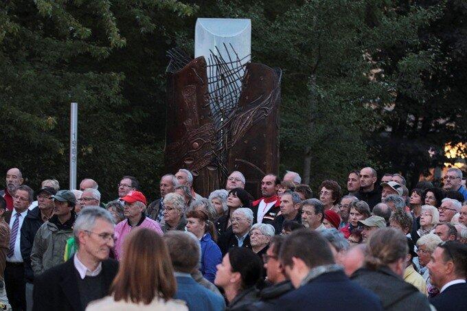 Wende-Denkmal erlischt am Jubiläum