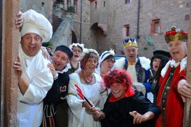 Die Burg Kriebstein wird sich erst im kommenden Jahr wieder in die Burg der Märchen verwandeln. Neuer Termin ist das Wochenende des 10./11. Juli 2021.