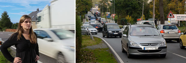 B 174-Umleitung: Anwohner leiden unter dem Verkehr