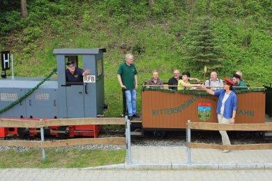 Mit der Rittersgrüner Feldbahn sind am kommenden Samstag wieder Mondscheinfahrten möglich.