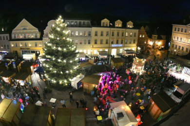 Der Weihnachtsmarkt Hainichen ist nun offiziell abgesagt.