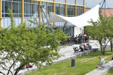 Der Campus der Freiberger Universität-