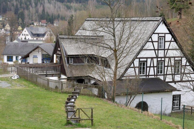 Umbauarbeiten in der Silberwäsche Antonsthal: Mehr Platz für den Heimatverein