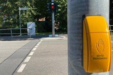 Drücken, kurz warten, Grün: So sollte es sein, war es aber nicht an der Waldenburger Straße.