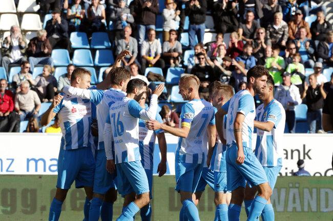 Nach zehn Spielen in der Regionalliga Nordost ist der CFC mit 30 Zählern weiter Tabellenführer.