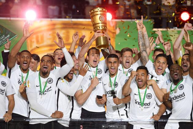 FC Bayern geschlagen: Eintracht Frankfurt gewinnt den DFB-Pokal