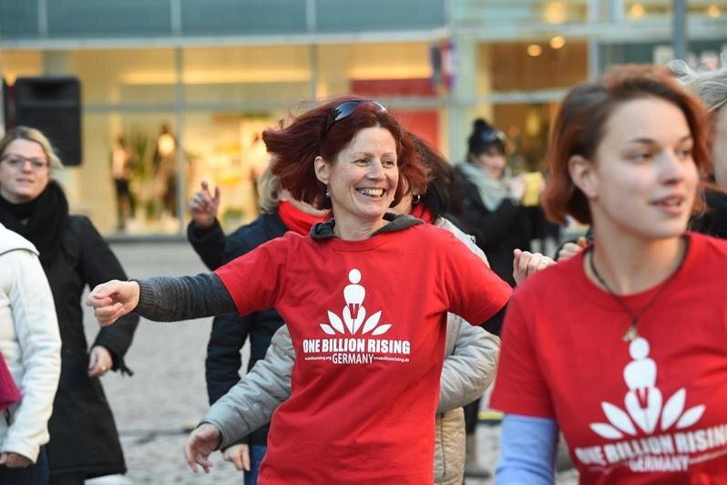 Heike Froede (48, Mitte) ist Mitinitiatorin von One Billion Rising in Chemnitz.