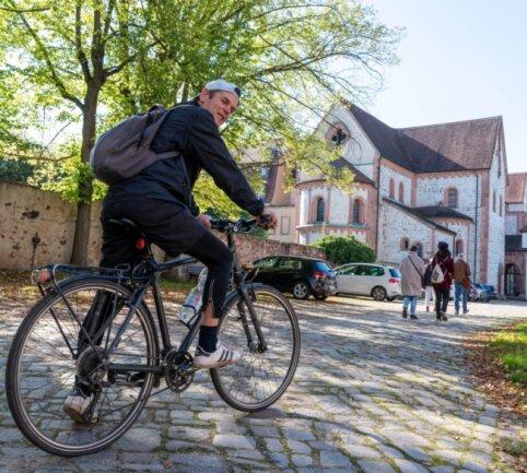 Im Wechselburger Kloster hat man Ideen, wie Gemeinde und Region von Chemnitz als Kulturhauptstadt 2025 profitieren könnten. Ein Idee ist der Anschluss des Ortes mit seiner Basilika an den Chemnitztalradweg.