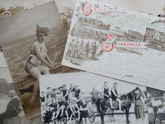 Historische Postkarten zeigen, mit welchenMotiven Urlauber in früheren Zeiten von ihren Reisen nach Hause grüßten.