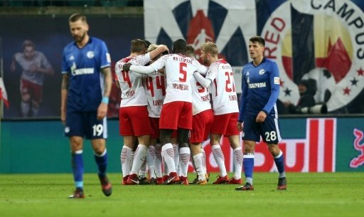 Leipzig schlägt Schalke mit 3:1