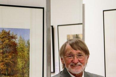 Der im Alter von 84 Jahren verstorbene Künstler Johannes Borges präsentierte seine Arbeiten in der Vergangenheit auch in der Galerie Art Forum in Burgstädt.