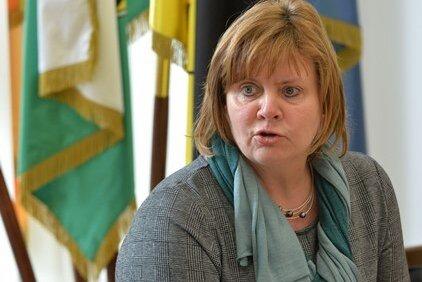 Martina Neubert - designierte Geschäftsführerin des  Jobcenters Mittelsachsen