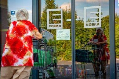 Weil der Strom am gestrigen Mittwoch in Niederwiesa und Umgebung ausfiel, musste auch der Einkauf im Edeka-Markt ausfallen.